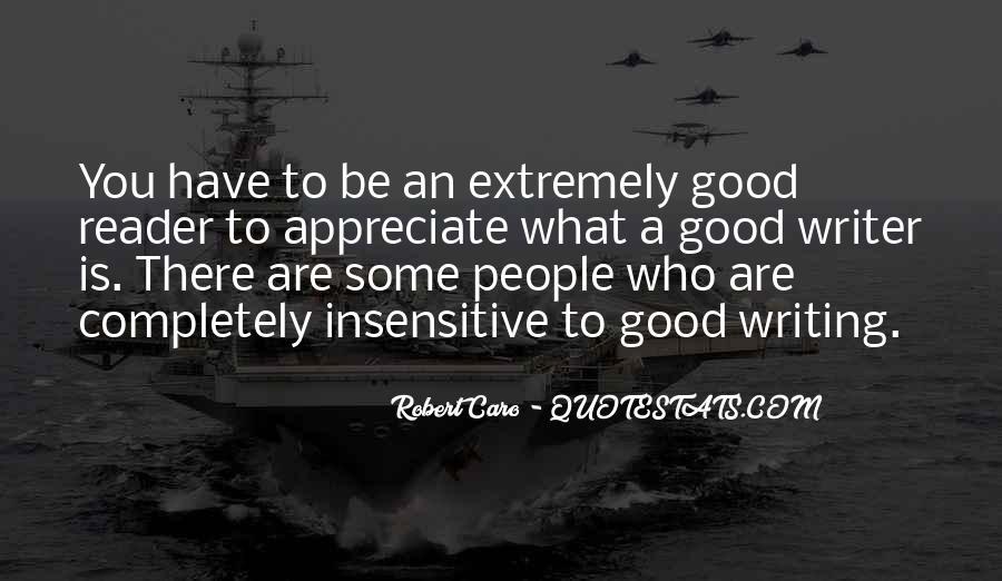 Appreciate Who You Are Quotes #1282030