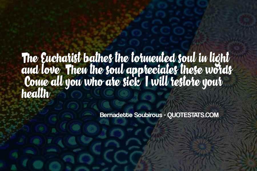 Appreciate Who You Are Quotes #1815100