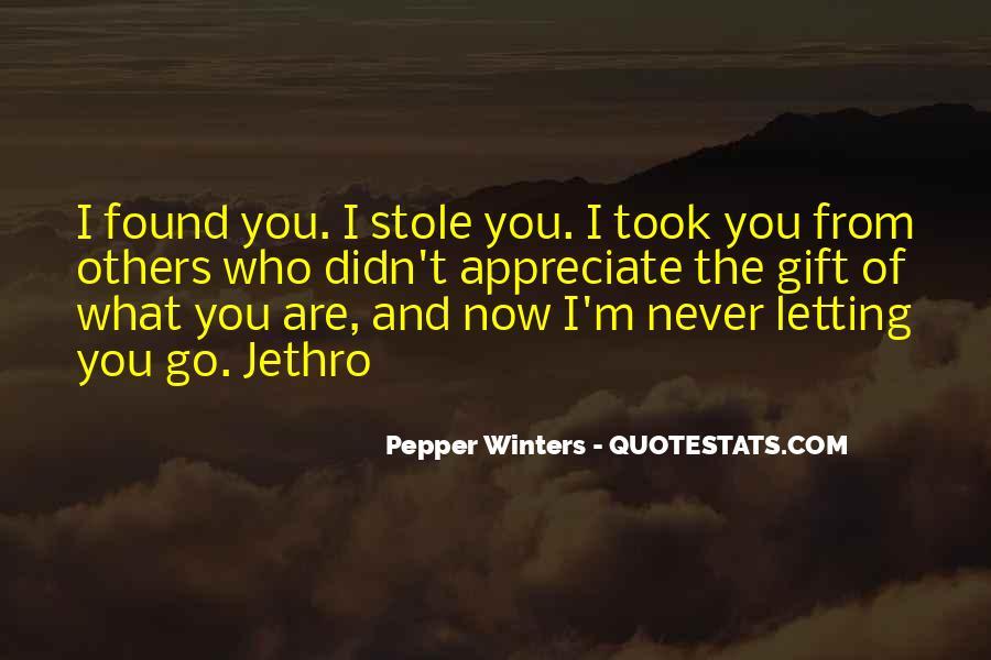 Appreciate Who You Are Quotes #382673