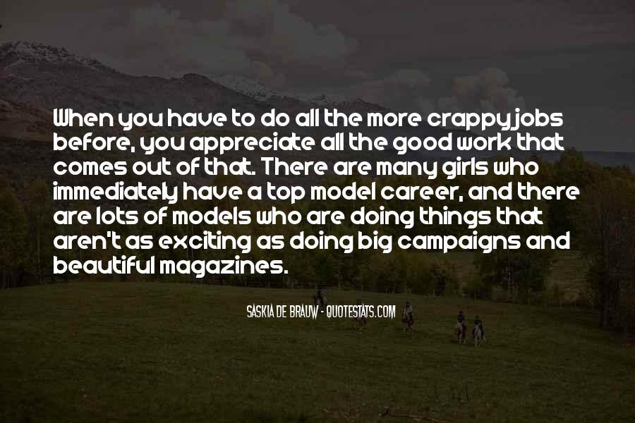 Appreciate Who You Are Quotes #613846
