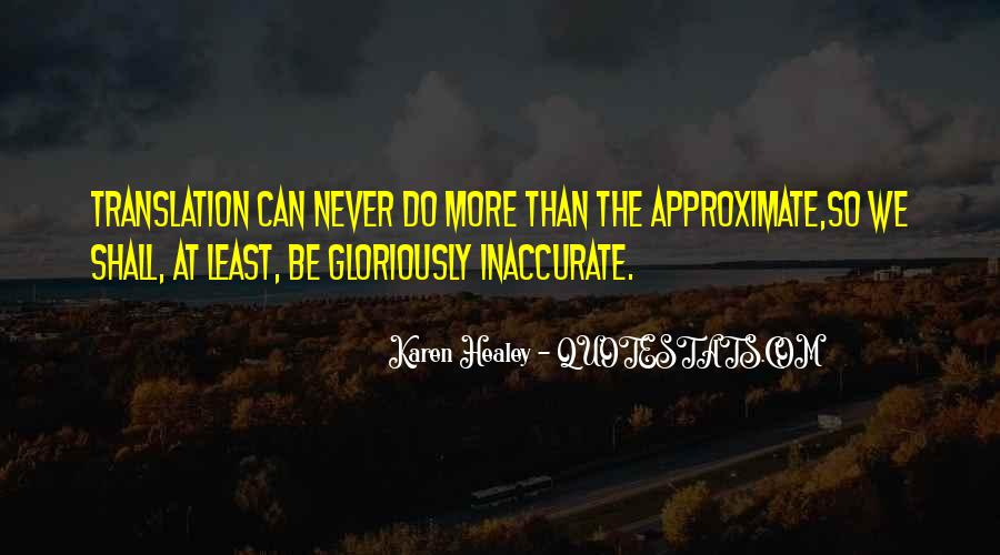 Approximate Quotes #1200255