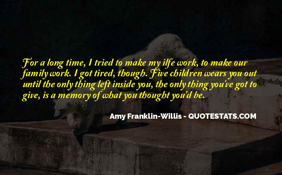 Quotes About Motherhood And Work #251907