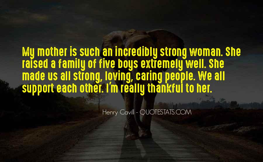 Quotes About Mother Support #1093302