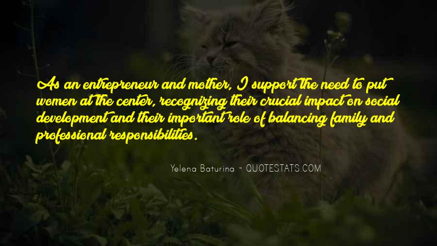 Quotes About Mother Support #1400726