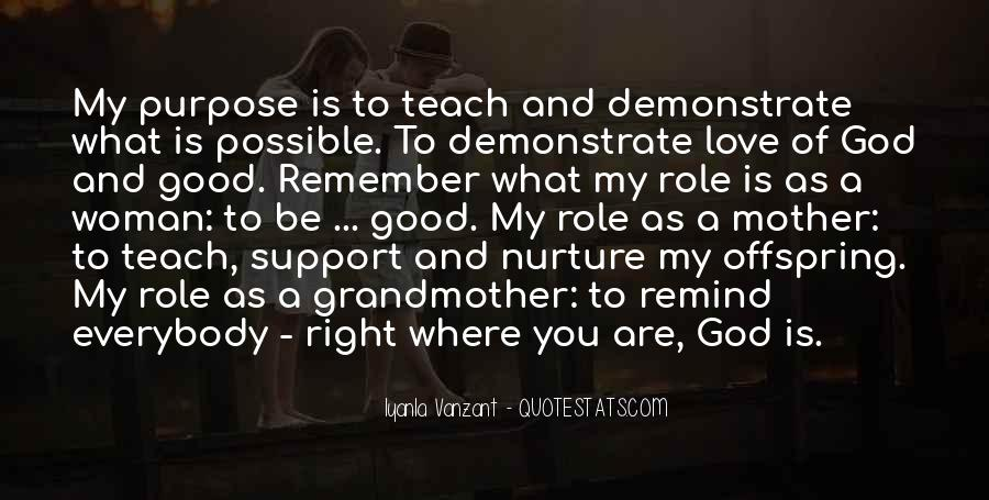 Quotes About Mother Support #1488711