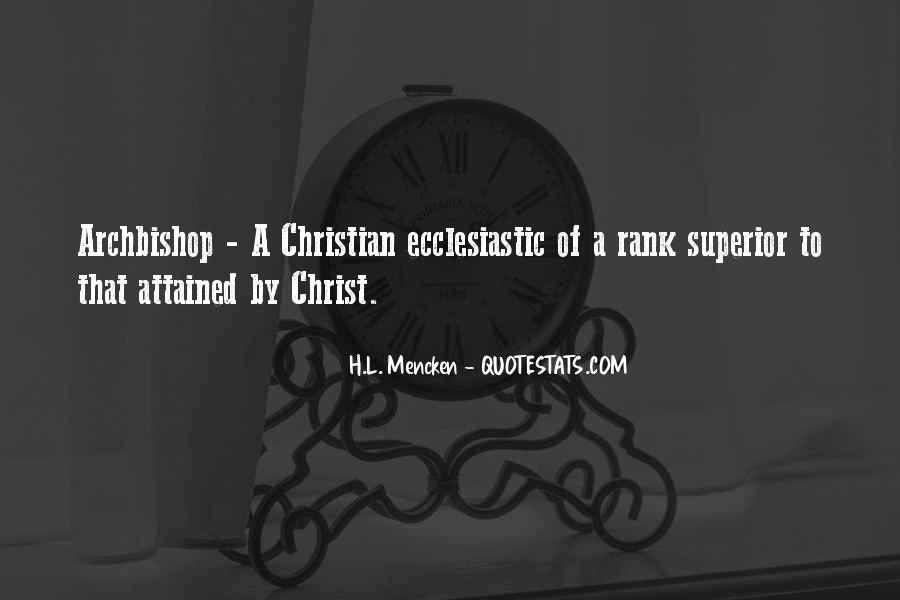Archbishop Quotes #1595644