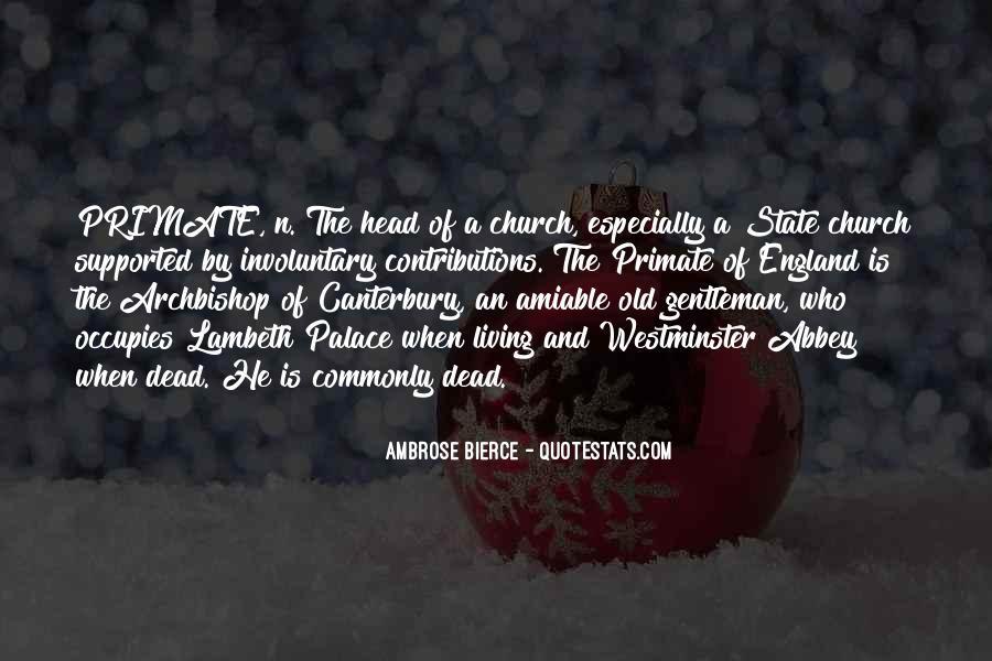 Archbishop Quotes #909442