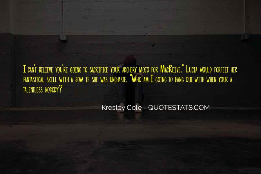 Archer's Best Quotes #15137