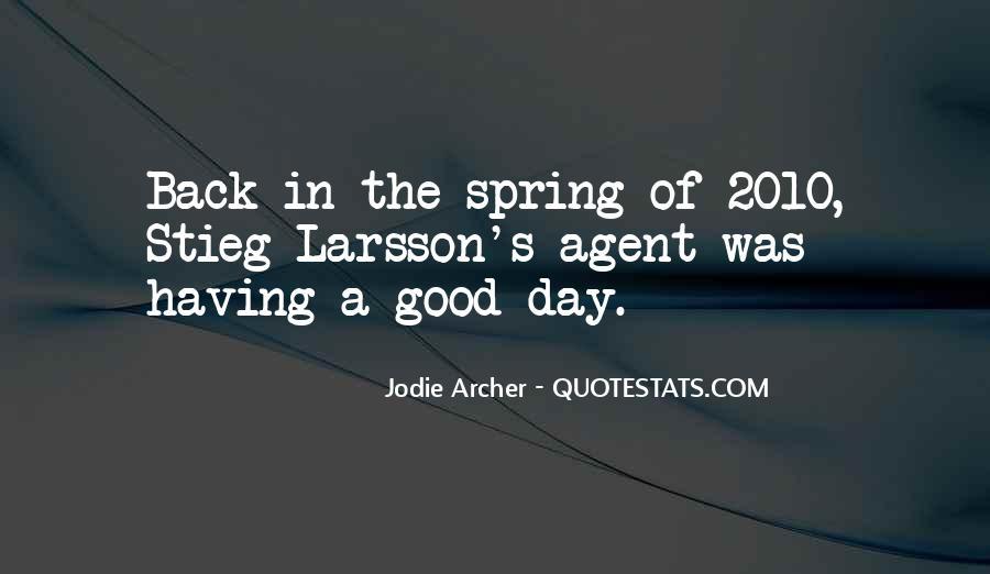 Archer's Best Quotes #59754