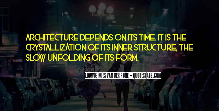Architecture Depends Quotes #1082273
