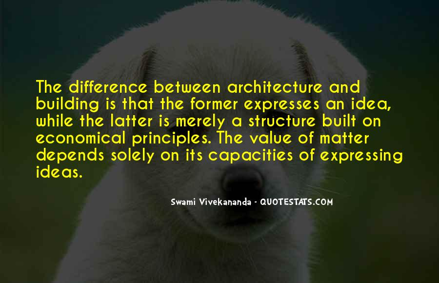 Architecture Depends Quotes #1877215