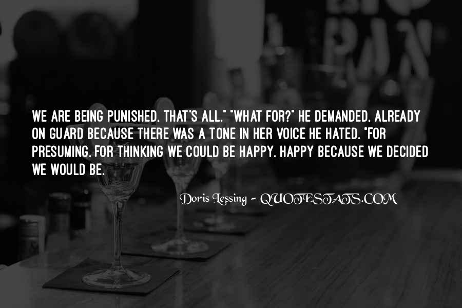 Are We Happy Quotes #110739