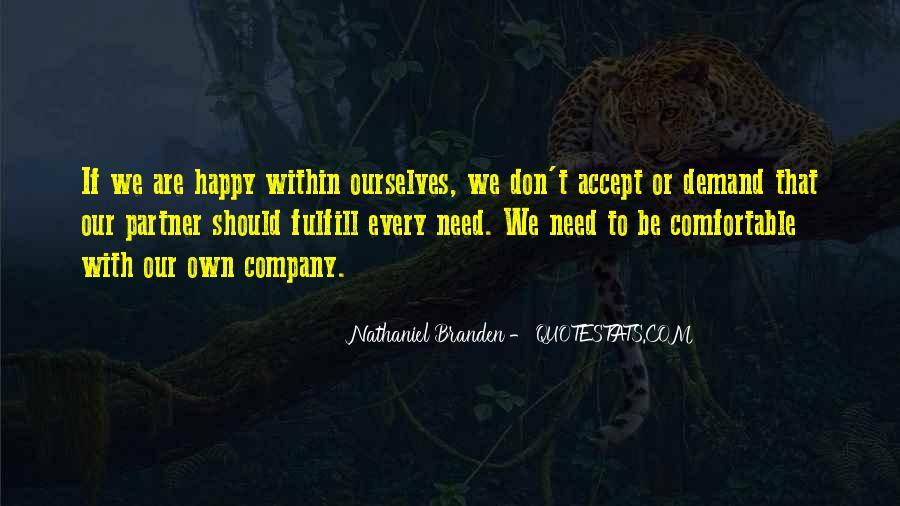Are We Happy Quotes #115622