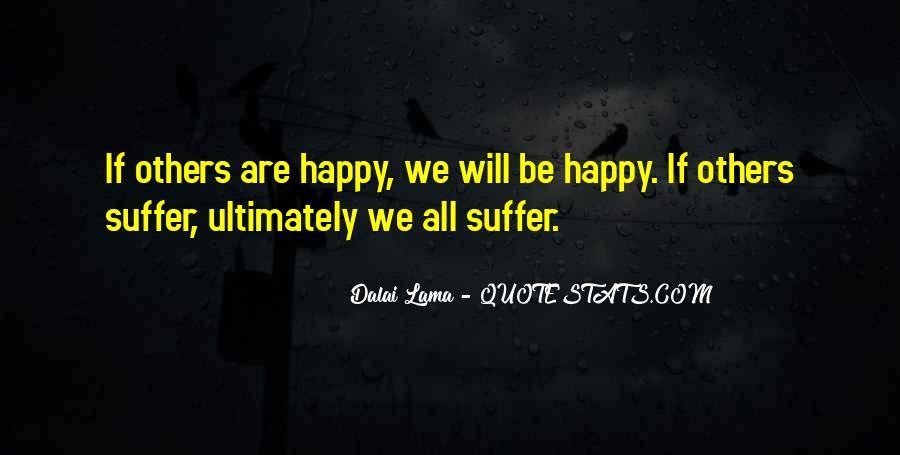 Are We Happy Quotes #176264
