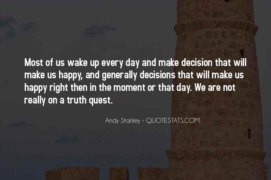Are We Happy Quotes #204989