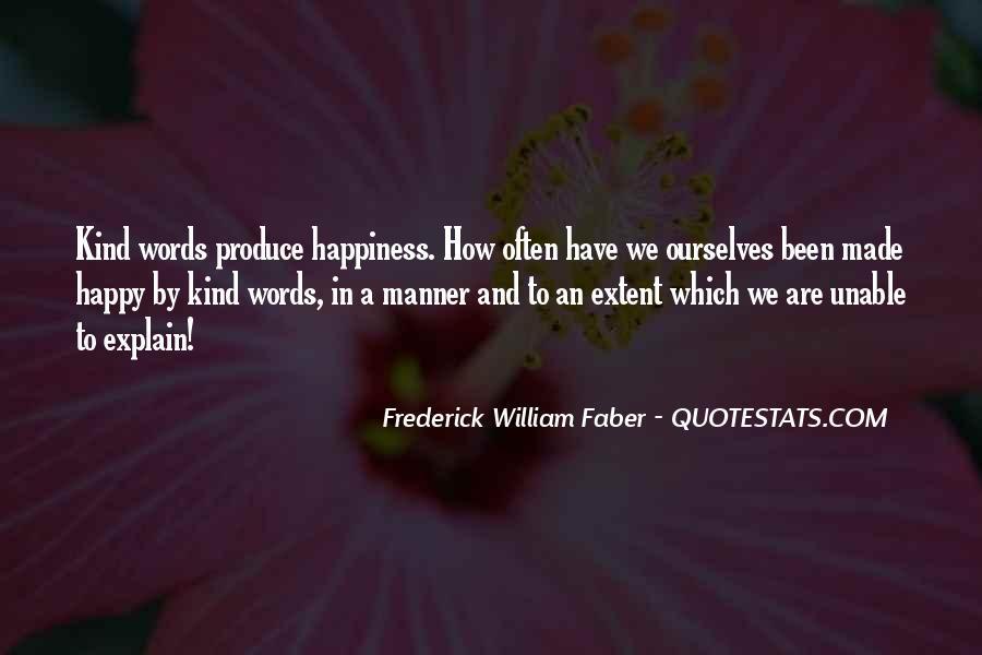 Are We Happy Quotes #205403