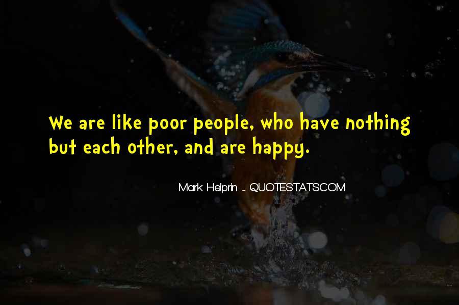Are We Happy Quotes #308796