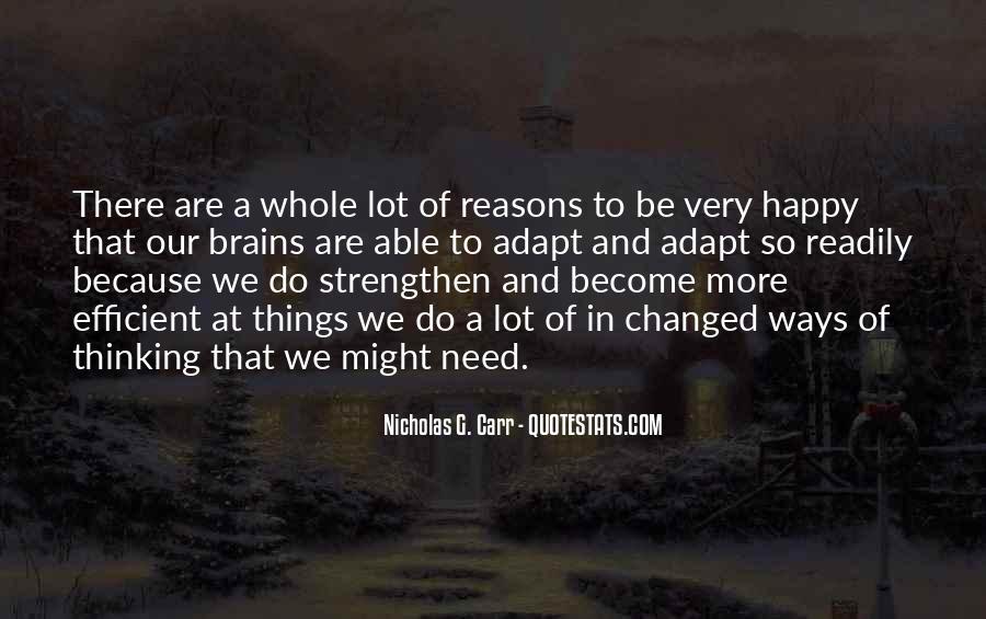 Are We Happy Quotes #309731