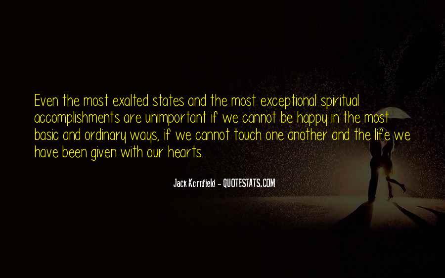 Are We Happy Quotes #91010