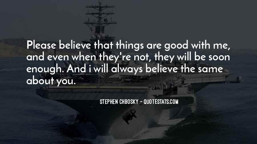 Are You Good Enough Quotes #260170
