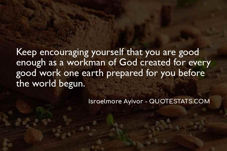 Are You Good Enough Quotes #477490