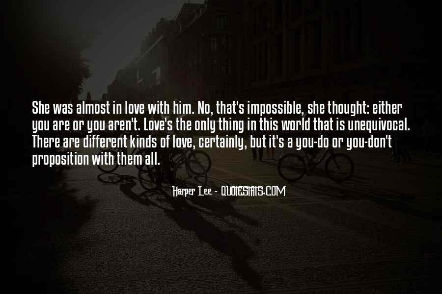 Are You In Love Quotes #66763