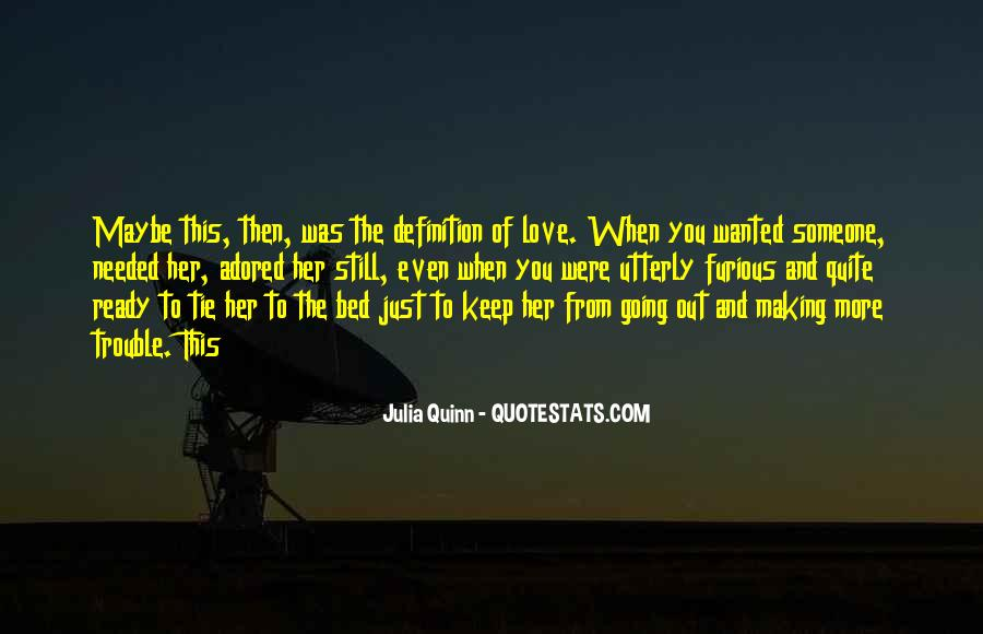 Are You Ready For Love Quotes #131242