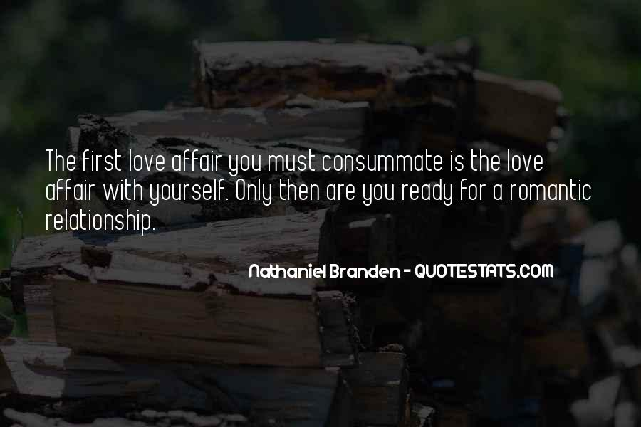 Are You Ready For Love Quotes #600939