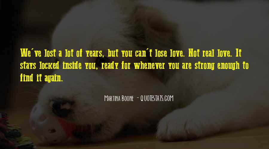Are You Ready For Love Quotes #951782
