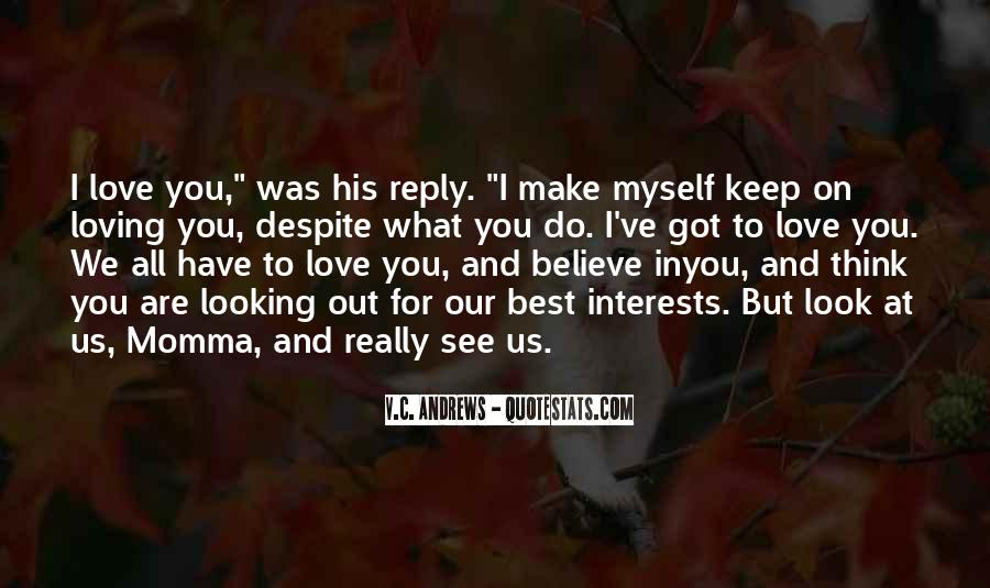 Are You Really In Love Quotes #282961