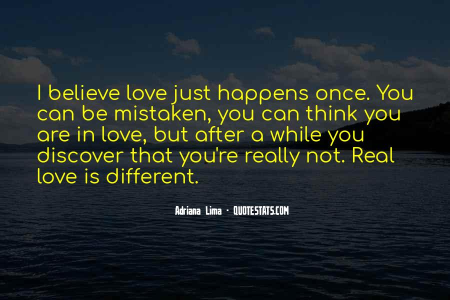 Are You Really In Love Quotes #662520
