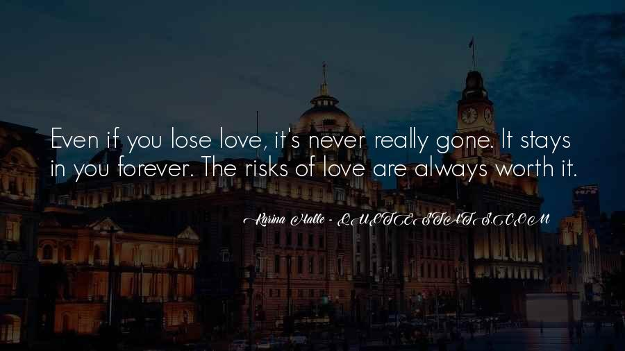 Are You Really In Love Quotes #68867