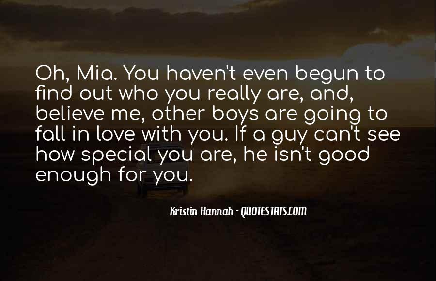 Are You Really In Love Quotes #956779