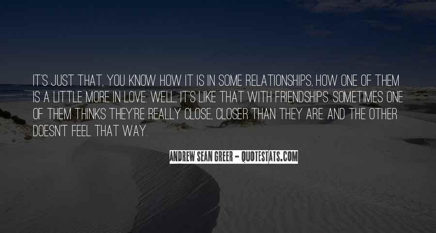 Are You Really In Love Quotes #981119