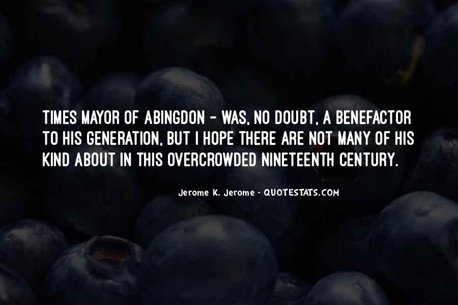 Quotes About The Y Generation #10089