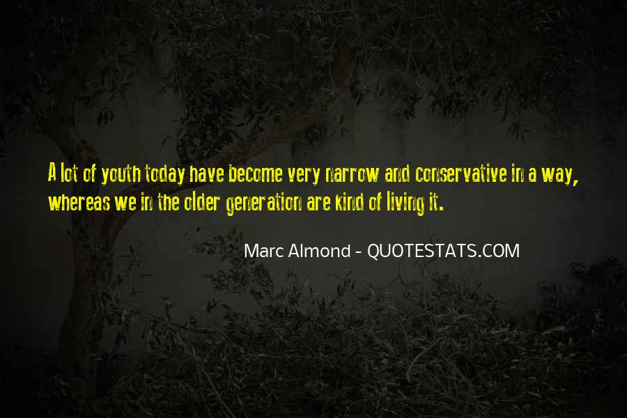 Quotes About The Y Generation #13590