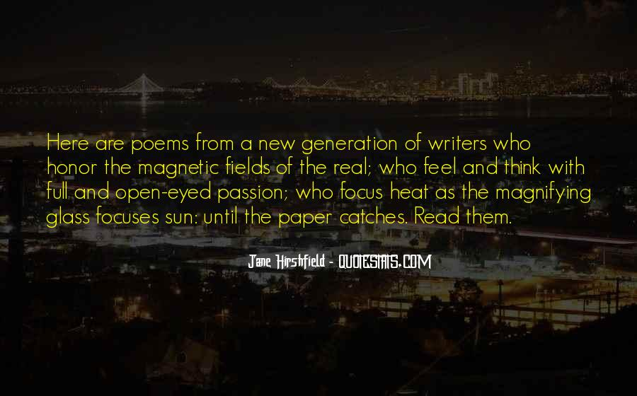 Quotes About The Y Generation #15358
