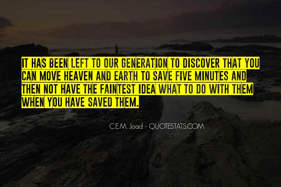 Quotes About The Y Generation #9652