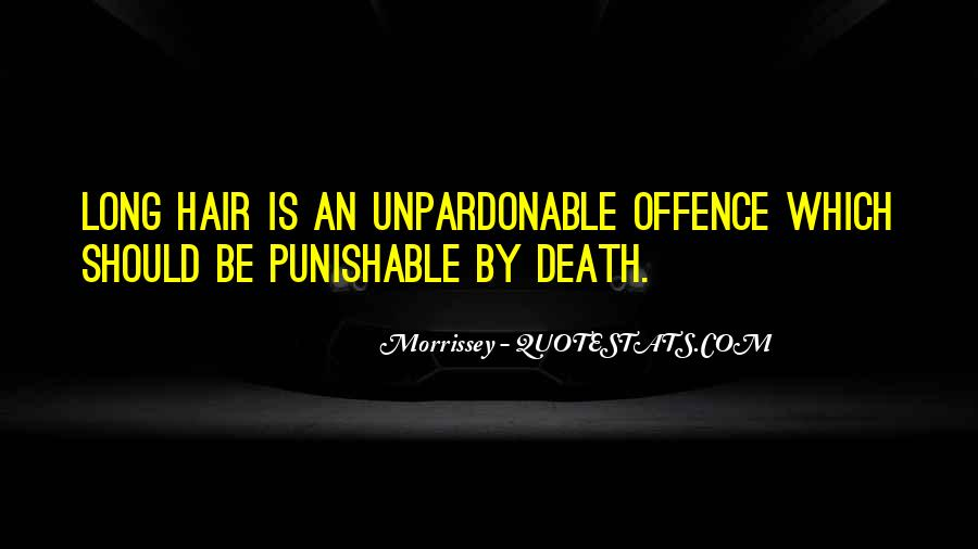 Quotes About Morrissey Death #116764