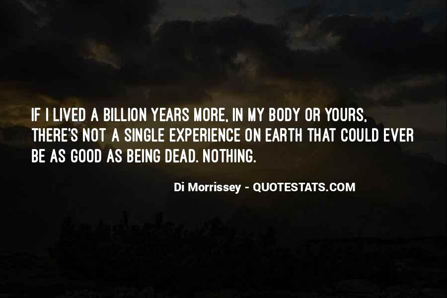 Quotes About Morrissey Death #1611575
