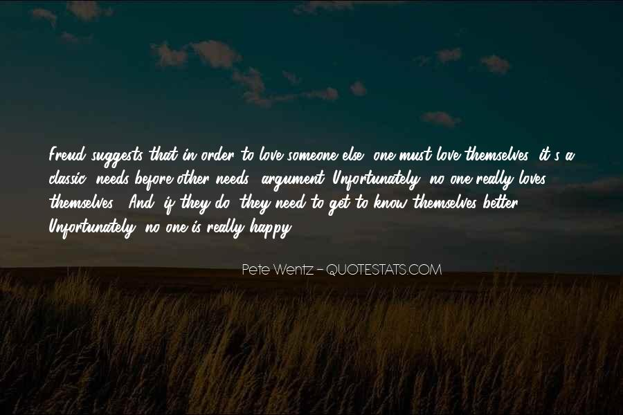 Argument Love Quotes #1403323