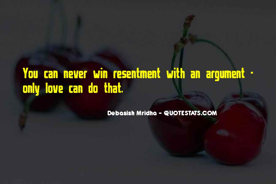 Argument Love Quotes #1518530