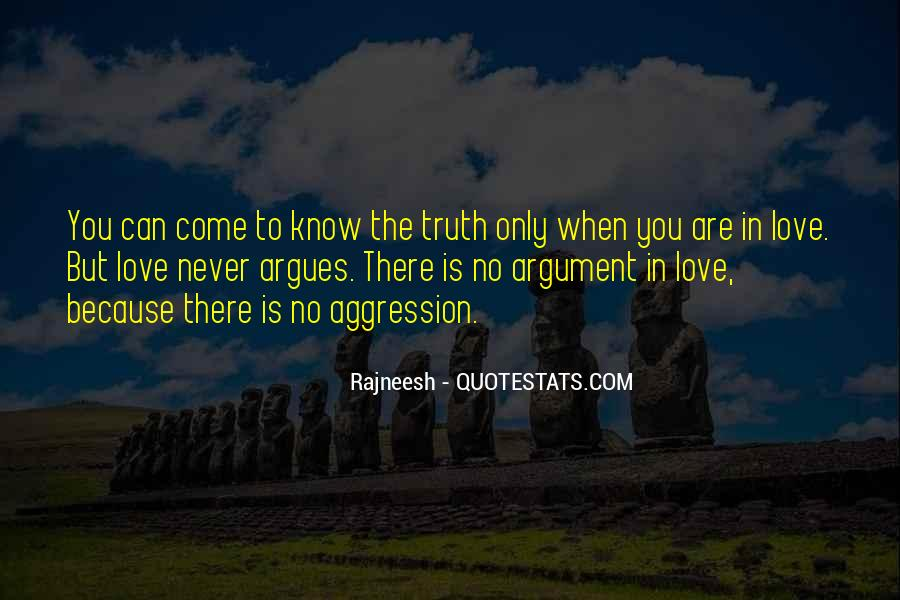 Argument Love Quotes #1554468