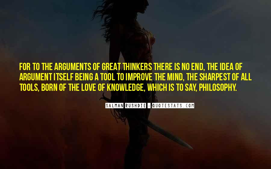 Argument Love Quotes #1568120