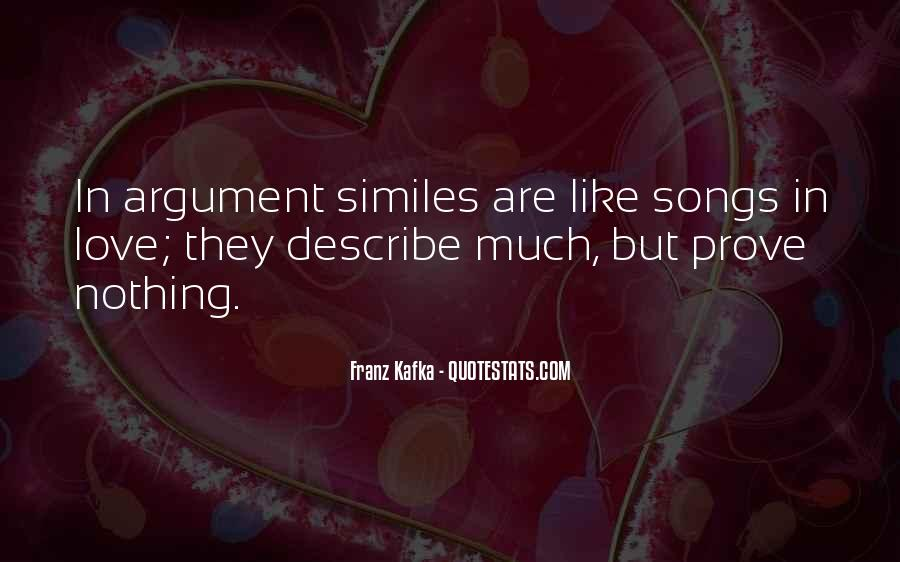 Argument Love Quotes #246495