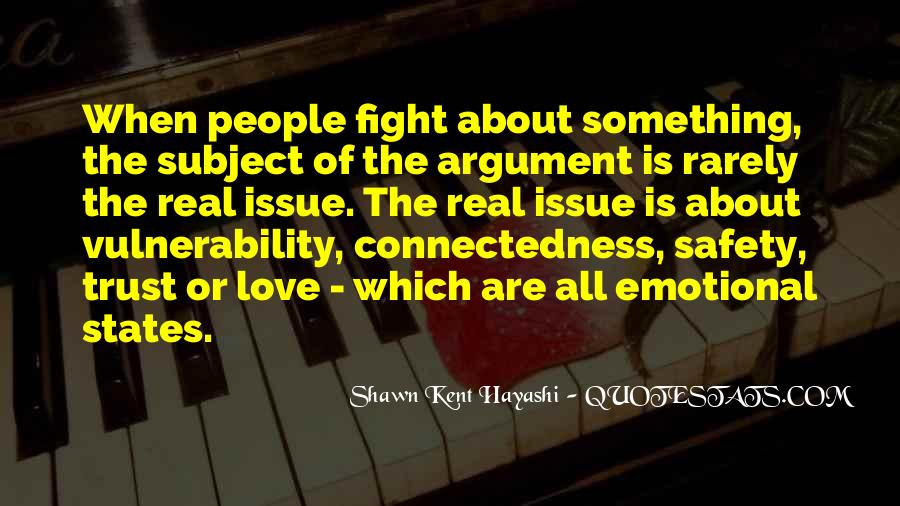 Argument Love Quotes #26092