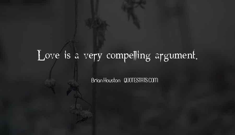 Argument Love Quotes #305171