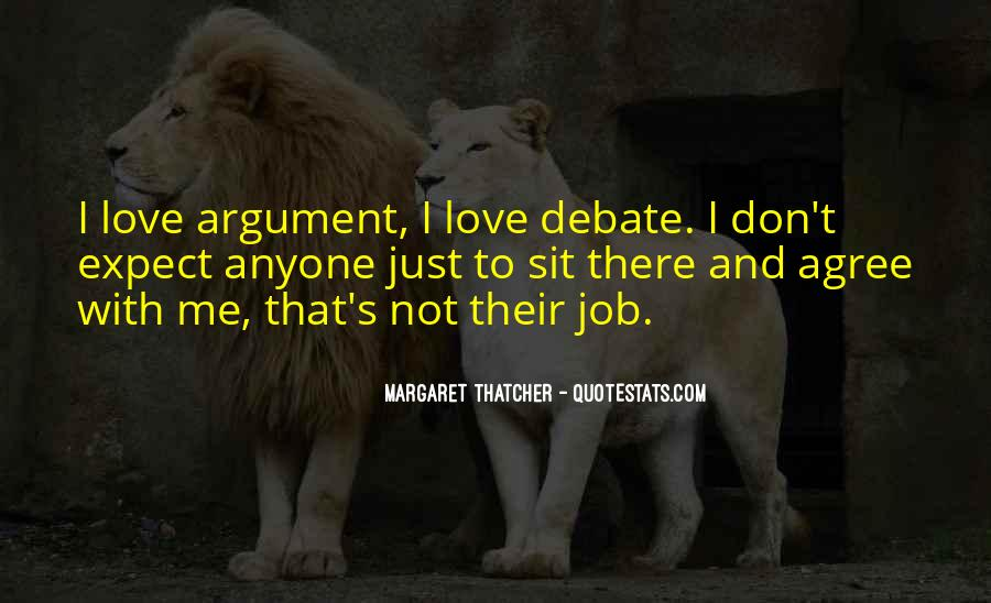 Argument Love Quotes #45082