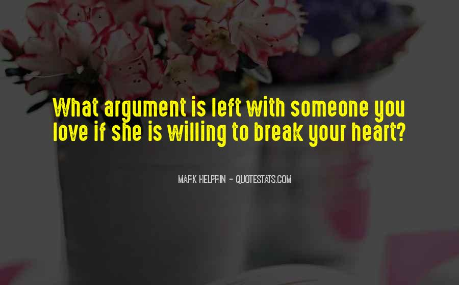 Argument Love Quotes #504840