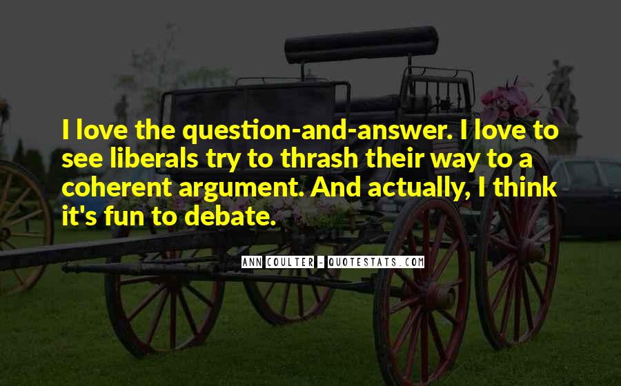 Argument Love Quotes #779630